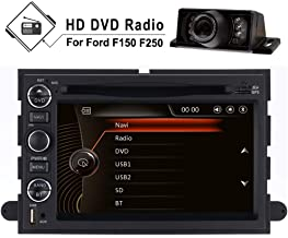 Car Stereo GPS Navigator for Ford F150 F250,7 Inch Double Din HD Touch Screen FM Radio DVD Player Bluetooth Mirror Link Canbus 16G SD Map