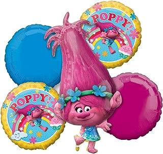 Anagram 91113 Licensed Balloon Bouquet, Pink