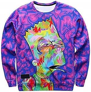 bart simpson purple sweater