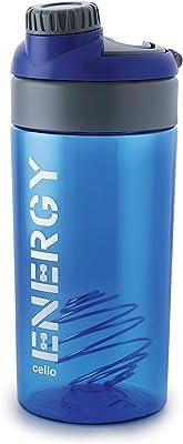 Cello Plastic Protein Shake Bottle, 700ml, Blue