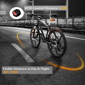 Rubin Bicycle Light Wheel Front White LED Lamp Flash Light Safety Warning