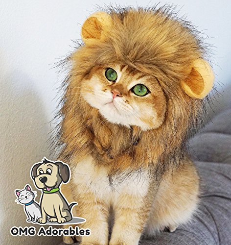 OMG Adorables Lion Mane Costume for Cat (Cat)
