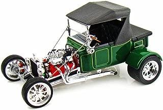 Road Signature 92829 1923 Ford T-Bucket Soft Top Green 1/18 Diecast Model Car