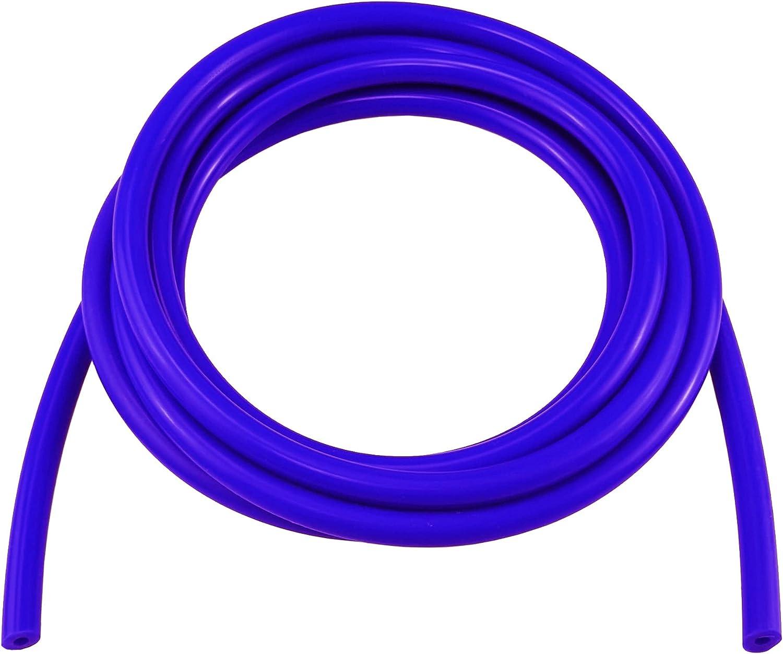 Ucreative Over item handling 10FT High Temperature wholesale Silicone Hose Blue Tubing Vacuum