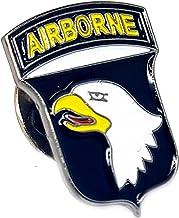 Anstecknadel mit Adler-Motiv, 101. Airborne Division, hochwertig, Metall, Emaille, für Kleidung, Taschen, Geschenk