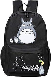 My Neighbor Totoro Anime Cosplay Mochila Bandolera Mochila Mochila escolar Mochila escolar