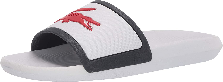 Lacoste Women's Mens Croco Slide Sandals