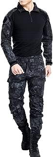 Vividda Commando Suit Camouflage Coat + Pants Tactical Pants Jungle Army Uniform