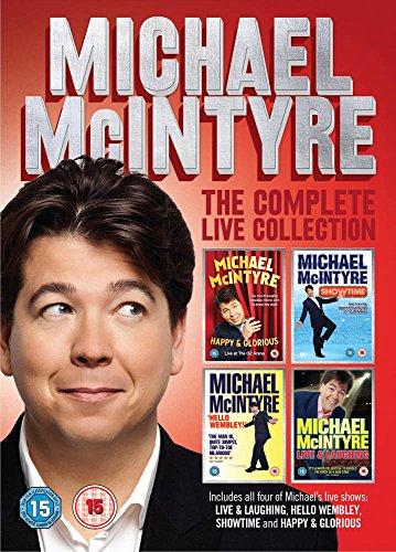 Michael Mcintyre: The Complete Live Collection [Edizione: Regno Unito] [Reino Unido] [DVD]