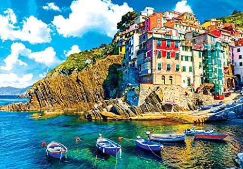 Kodak 1500 Piece - Cinque Terre Riomaggiore Village Italy