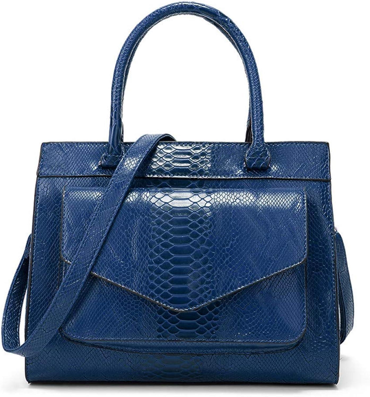 LHKFNU New Serpentine Hand Bag Fashion Lady Bag Simple Atmosphere Single Shoulder Bag