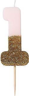 """غلاف بتصميم شمعة لتزيين الكيك، من تاكينج تابلز 3"""" BDAY-CANDLE-1"""