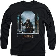Hobbit Movie Bilbo Poster Licensed Adult Long Sleeve T-Shirt S-3XL