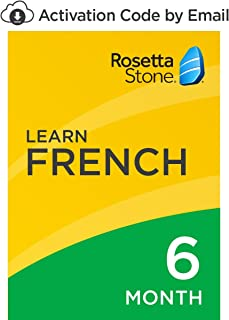 Rosetta Stone: Learn French for 6 months on iOS, Android, PC, and Mac [Activation Code by Email]