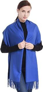 LERDU Pretty Gift Box Wrapped Cashmere Pashmina Scarf Shawl Fashion Warm Oversized Wool Wrap Shawl Winter Stole for Women