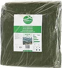 Catral Duitsland polyethyleen dekzeil, grootte 120, 5 x 8 m, groen, 55 x 38 x 7 cm, 56010005