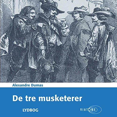 De tre musketerer [The Three Musketeers] cover art