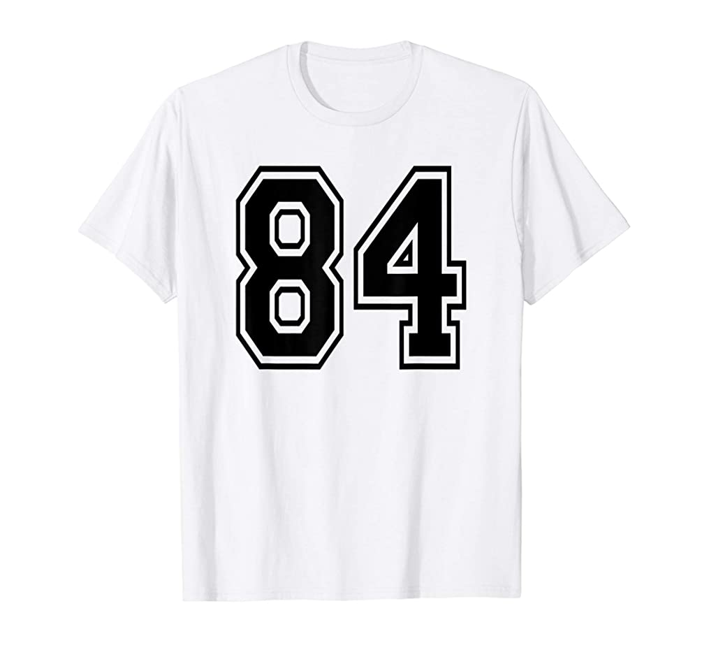 Number 84 Sports Jersey Player Number Birthday  T-Shirt