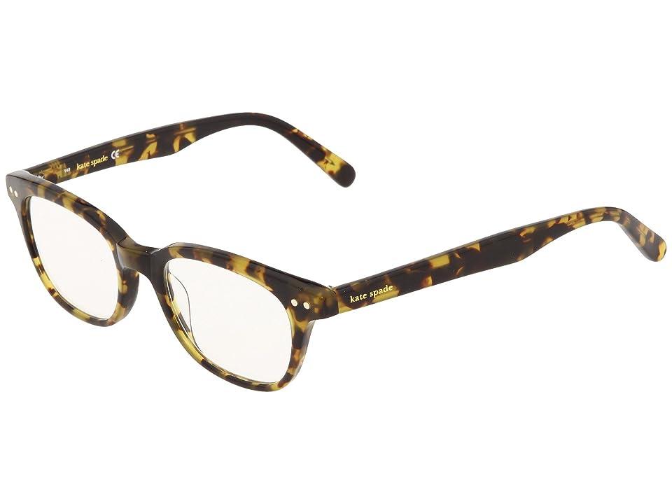 Kate Spade New York Rebecca (Tokyo Tortoise) Reading Glasses Sunglasses