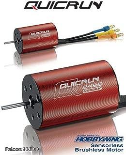 Hobbywing 30404001 Quicrun-2435-4500kV G2 Motor 1/18 1/16