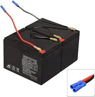 Replacement Batteries for Peg Pergo Polaris Fits Peg Perego Gaucho Super Power (IGOD0500US) Peg Perego Polaris Sportsman 800 Twin (IGOD0510) Peg Perego Polaris Ranger RZR (red) Old (IGOD0511)