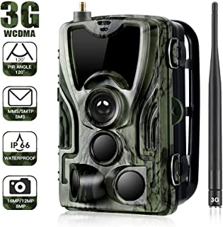 Cámara de caza 3G 2G Cámara de vigilancia de vida silvestre 20MP 1080P, cámara de juego de detección nocturna con LED IR de 940 nm, visión nocturna, pantalla LCD de 2.4
