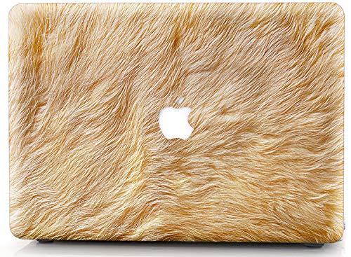 RQTX Estuche rígido para computadora portátil con diseño de león para MacBook Air de 11 Pulgadas Modelo A1465 A1370 Carcasa de plástico Duro (HRH Lion)