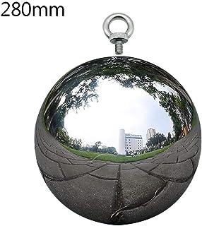 Boule creuse Boule de décoration réfléchissante en acier inoxydable 304 Boules de Regard flotteur Boule de Miroir sans Soudure Ornement de jardin boule étang Jardin