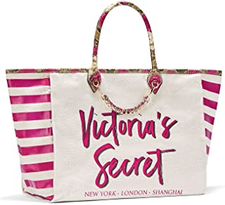 Angel City Tote, Hot Pink Striped/Python