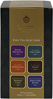 East India Company tea fine tea selection (1 box of 20 bags)