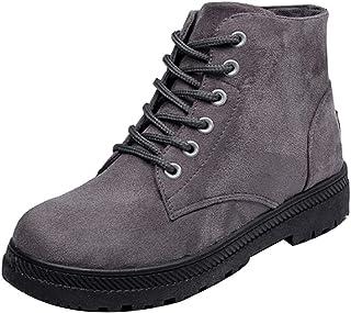 Aiweijia Ladies Winter High-Top Thicken Rubber Sole Martin Cotton Snow Boots
