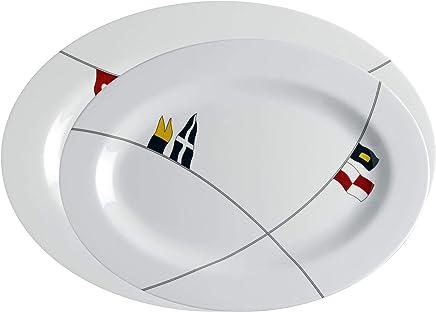 Marine Business Servierplatten 2 Stück oval - Regatta B07GQ1Q3N3   König der Quantität
