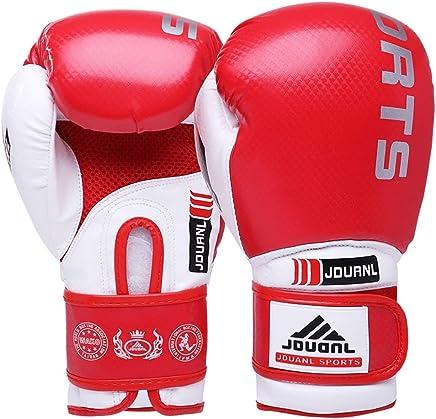 XBQJST Boxhandschuhe Für Männer, Frauen - 10,12 Oz, Erwachsene Sanda-Handschuhe Professioneller Wettbewerb Muay Thai Fight Training Sandsäcke Kampfhandschuhe - Rot B07MY1W1NG     | Kaufen Sie online