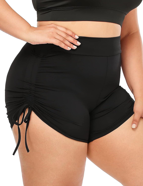 Lafaris Plus Size Baltimore Mall Workout Yoga Shorts Tampa Mall for Booty Butt Women Lift