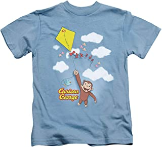 Popfunk Curious George Kite Flying Youth T Shirt &