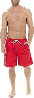 MyShoeStore Mens Swimming Shorts Cargo Combat Flap Pocket Pool Surf Holidays Beach Gym Running Sports Plain Swimwear Summe...
