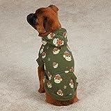 Cappottino per cani con elegante design a pois, abbigliamento per cani, abbigliamento di lusso per animali domestici, con cappuccio per l'inverno, caldo regalo di Natale, rosa e blu