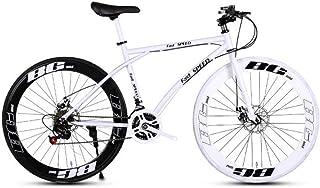 comprar comparacion LRHD Las bicicletas de los hombres y de las mujeres Road, 24 bicicletas de velocidad de 26 pulgadas, sólo for adultos, Mar...