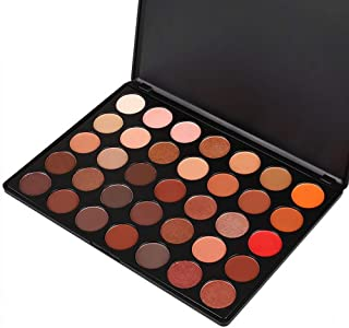 MISKOS 35 Colors Professional Makeup Eyeshadow Pallets Shimmer Matte Eye Shadow Set Cosmetic Palette #35 Series (35B)