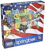 Springbok's 1000 Piece Jigsaw Puzzle State Plates
