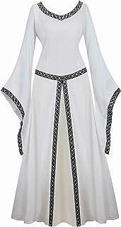 Vestido Medieval Renacimiento Mujer Vintage Victoriano
