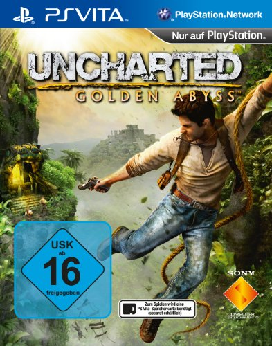 Jogo Uncharted: Golden Abyss PS Vita