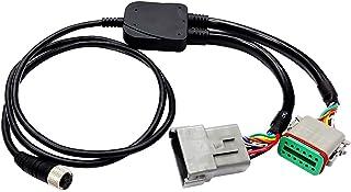 Raymarine e70305 Y 连接线,中性成人,黑色,M 码