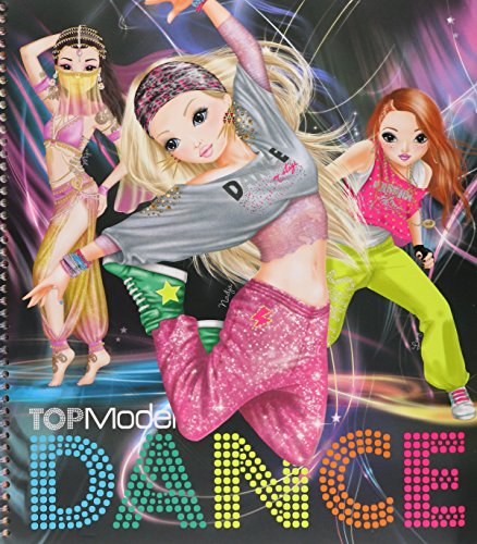 Depesche - Top Model Dance, Cuaderno de Pegatinas
