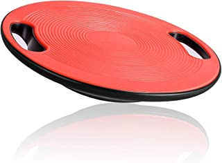 Wobble Balance Board, Exercise Stability Trainer, No-Skid Surface with Portable Handle for Workout Core Trainer Physical T...