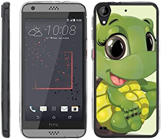 TurtleArmor | Compatible with HTC Desire 530 Case | Desire 630 | Desire 550 [Flexible Armor] Ultra Slim Flexible Clear TPU Case Fitted Soft Bumper Cover Animal - Baby Turtle