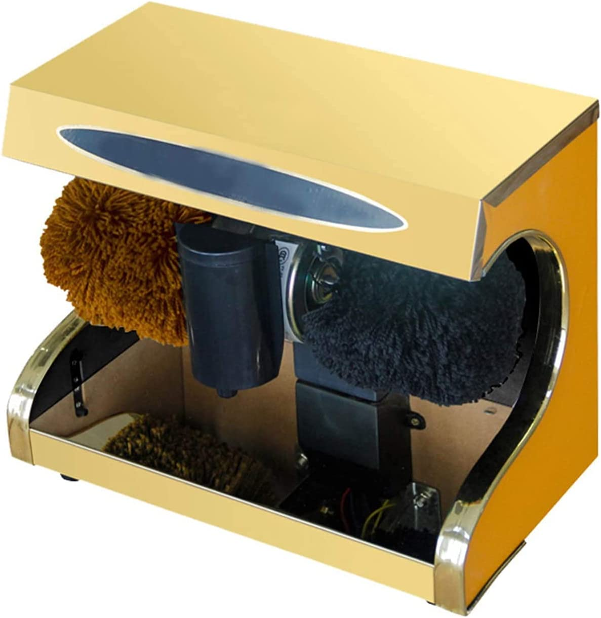HTZ The Automatic Max 78% OFF Induction Shoe S Polisher Stainless Industry No. 1 integrates