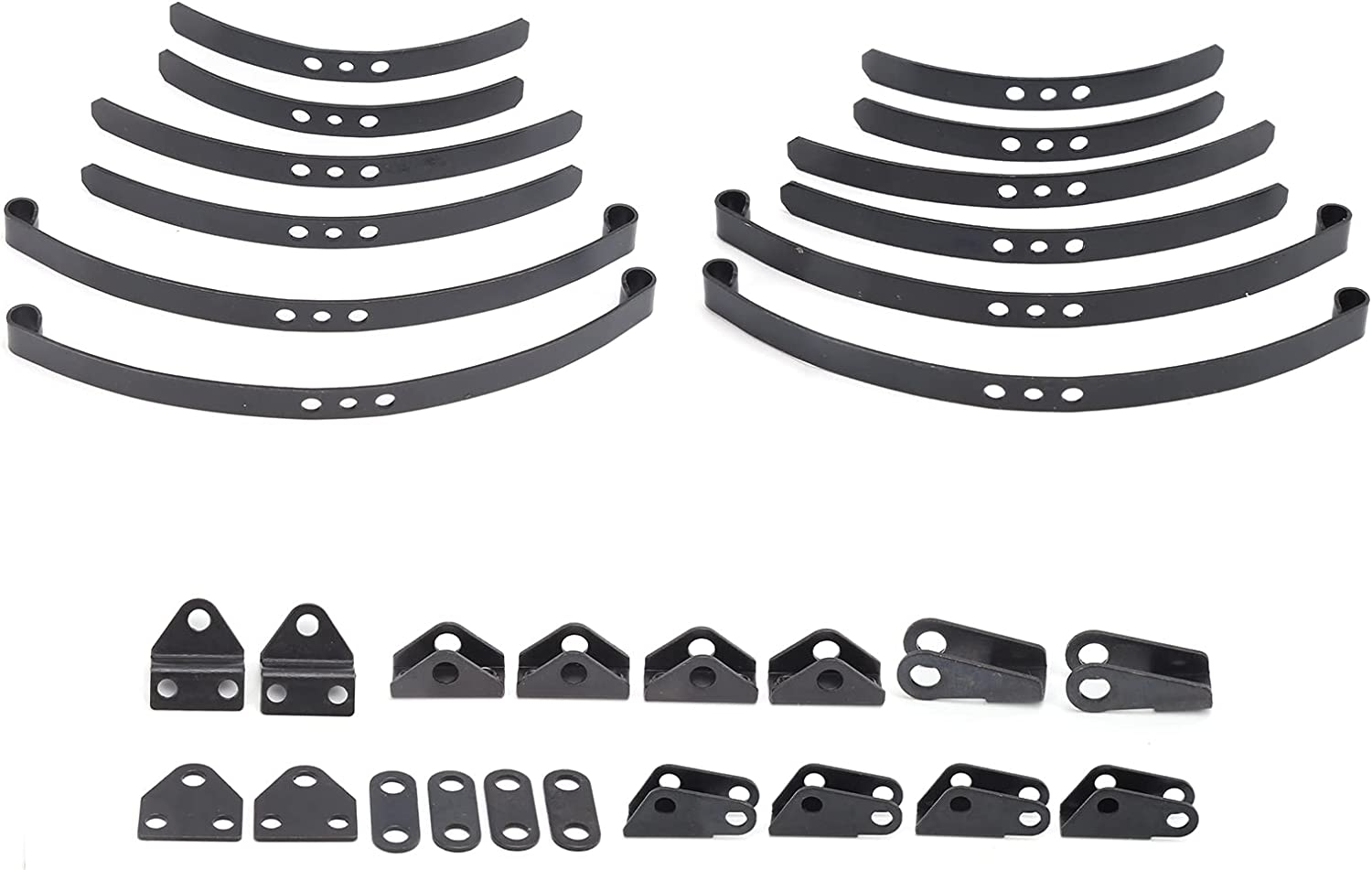 VGEBY RC Front Rear Leaf Type Recommended Fashion 14 System Spring Suspension for 1
