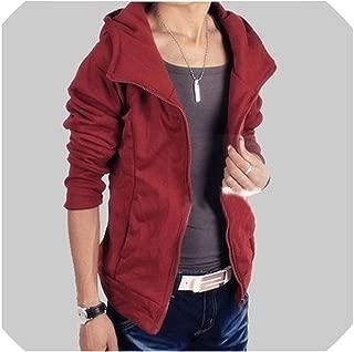 Street Men's Leather Jacket Coat British Men's Leather Garment S 5XL