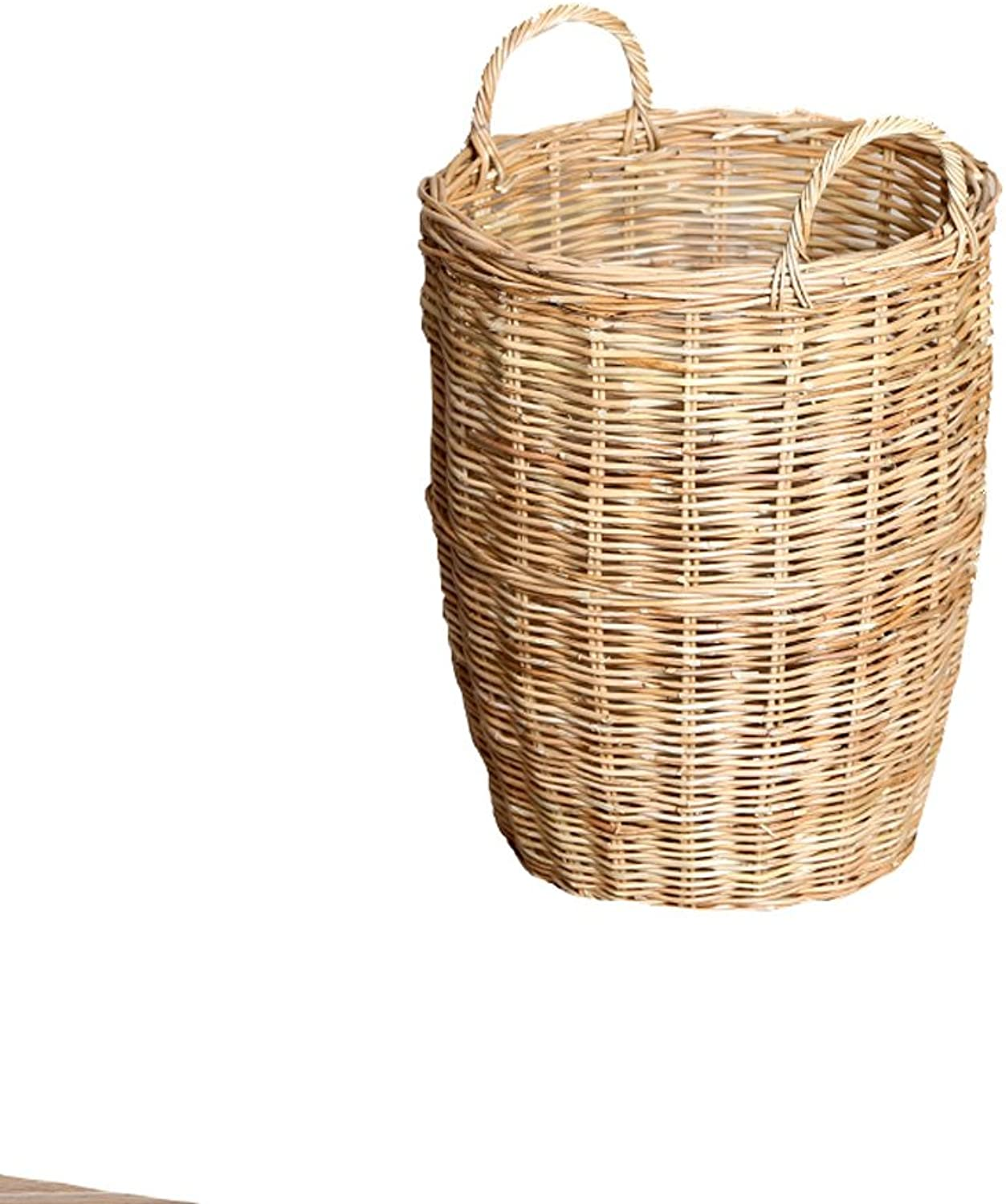 ZH1 Umbrella Stands Umbrella Stand,Wicker,Rattan Storage Basket,Creative Sundries Bucket (Size   M)